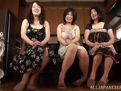 Japanese MILFs Play with Lucky Guys