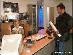 Sweet Sylvia Sun Gets Her Pussy Licked At The Office