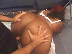 BBW anal fucked