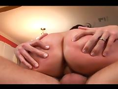 Enchanting monster tits brunette for cunt invasion