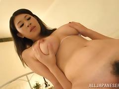 Sweet Suzuna Komiya Serves A Titjob Before Going Hardcore
