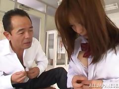Minami Kojima arousing Asian teen fucked by teacher