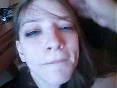 Good Girl Sucking Cock And Swallowing Cum