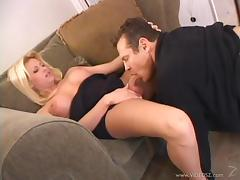 Pretty Blonde Shemale With A Hot Body Enjoying A Hardcore Anal Fuck