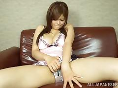 Sexy Japanese Solo Model Using Her Favorite Vibrator