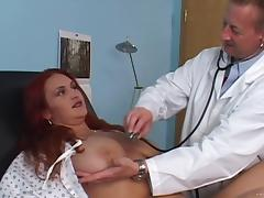 Redhead Maiden Yells While Her Pussy Is Being Licked