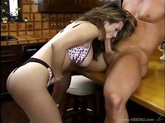 Maiden With Big Tits In Bra Giving Her Guy A Nice Titjob