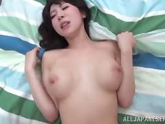 Petite Asian Milf With Big Tits Rides Cock After A Blowjob