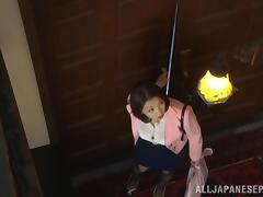 Mio Takahashi hot Asian milf enjoys some bondage sex