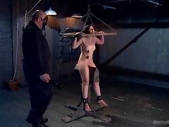 Bondage, BDSM, Bondage, Brunette, MILF, Nipples
