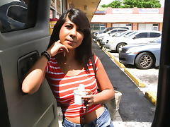 Latina Fucked On The BangBus