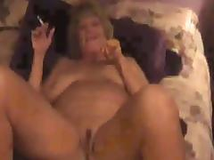 Hot Dirty-Talking Older Cougar Smoking and Fucking