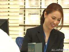 Naughty Asian Office Chick Yurie Matsushima Gets Drilled Hardcore