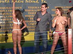 Amateur porn hottie gets wild for a fuck party scene