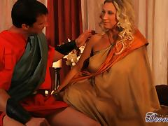 Devon Lee fucks Tony De Sergio in a hot roman role play