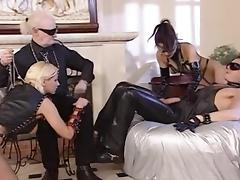 Gorgeous kinky whores screwed together