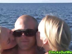 Australian, Amateur, Australian, Beach, Group, Hairy
