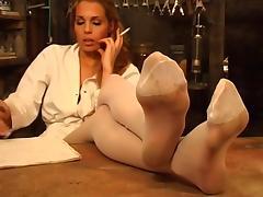 Nylon feet OMG