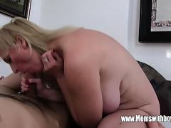 Stepmom, Anal, Assfucking, Blonde, Blowjob, HD