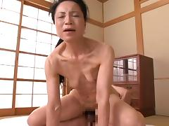 Japanese Granny 70 yo (censored)