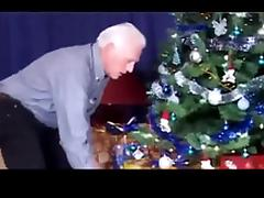 Christmas - grandpa and grand daughter PART1