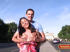 magma film german amateur public flashing