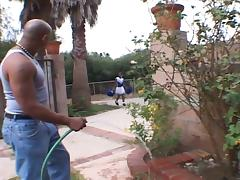 Ebony cheerleaders 12-the ebony babe drilled by another black dicks