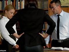 Office, Anal, Assfucking, Banging, Cowgirl, Ffm