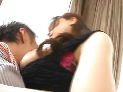 Busty Anri Okita Teases Until She´s Fucked Roughly