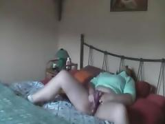 Spy, Amateur, Bed, Caught, Hidden, Masturbation