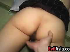 Asian Cutie Getting Fingered