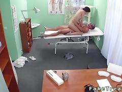 Clinic, Amateur, Banging, Big Tits, Boobs, Couple