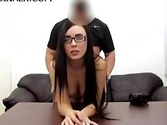 Casting, Anal, Assfucking, Audition, Blowjob, Brunette