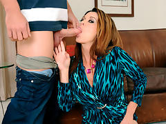 Raquel DeVine & Johnny Castle in Seduced by a Cougar