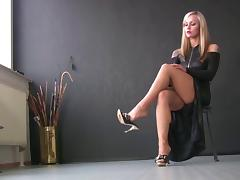 Boots, Amateur, Boots, Heels, Shoes, Teen
