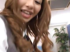 Kotone Amamiya Hot Asian office babe
