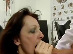 Hot MILF sucks big dick and fucks