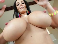Big Cock, Big Cock, Big Tits, Boobs, Brunette, Huge
