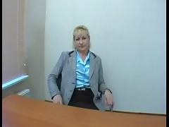 Audition #90 Mature Slag wants to become a Pornstar